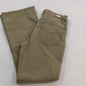 Gloria Vanderbilt Tan Denim Jeans Size 6P